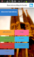 Screenshot of Barcelona Offline Map & Guide