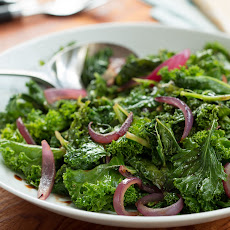 Sauteed Kale & Red Onions