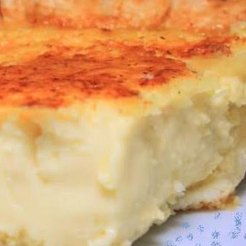 Lizzie's Coconut Custard Pie