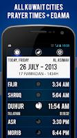 Screenshot of Kuwait Prayer Times