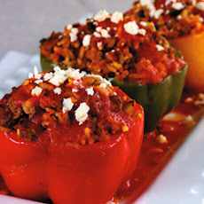 Lamb Feta Peppers