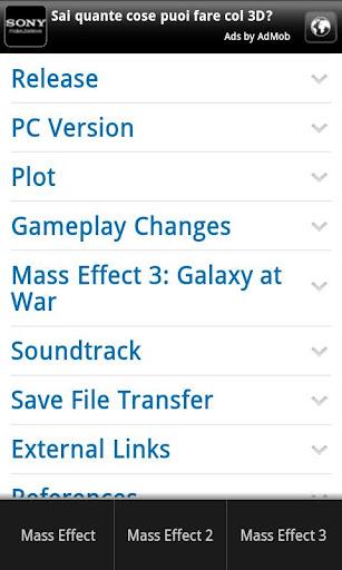 【免費娛樂App】Mass Effect 3 Wiki-APP點子