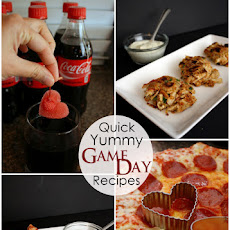 The Best Cherry Coke, Cheese Stuffed Bread Sticks, and Pizza Bites
