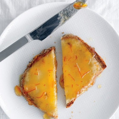 Marmalade-Cheese Toast