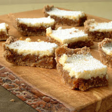 Fig and Cream Cheese Bars