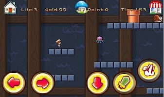Screenshot of Super Ninja Girl Free