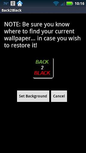 Black background wallpaper