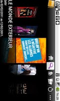 Screenshot of Tick&Live Fnac spectacles