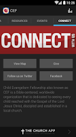 Screenshot of Child Evangelism Fellowship