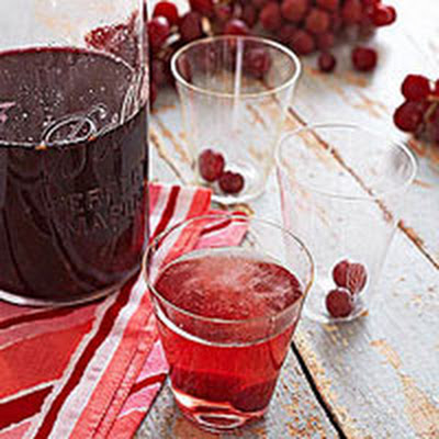 Sparkling Grape Cocktails