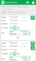 Screenshot of Transperth (Beta)