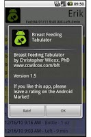 Screenshot of Breast Feeding Tabulator: Free