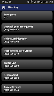 Turlock PD Mobile - screenshot