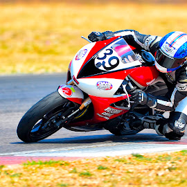Bend by Irwin Hackner - Sports & Fitness Motorsports ( motorbike, racing, motorcycle, motorsport )