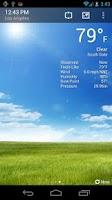 Screenshot of BeWeather & Widgets Pro