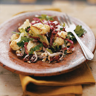 Roasted Cauliflower and Radicchio Salad