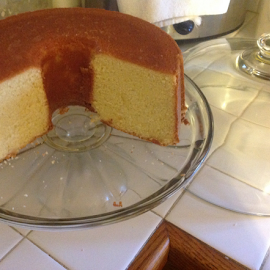 Home cooked butter pound cake by Terry Linton - Food & Drink Cooking & Baking ( dish, cake, brown, yellow, baked, fook,  )