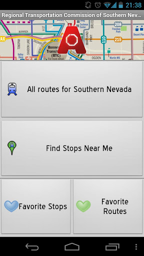 las-vegas-transit-anystop for android screenshot