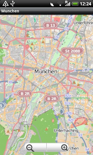 Munchen Street Map