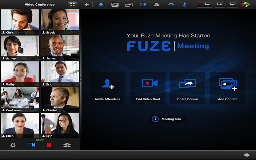 fuze-for-tablets for android screenshot
