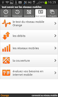 Screenshot of mon réseau mobile Orange