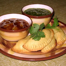 East Indian Vegetable Samosa Pastries
