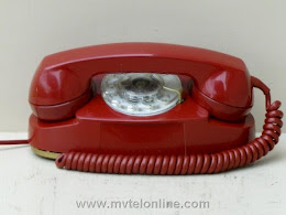 Desk Phones - Western Electric 702B Red Princess 1