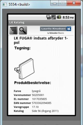 Screenshot #2 of LK katalog / Android