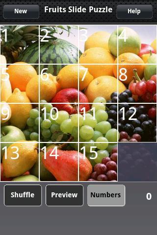 水果滑塊拼圖
