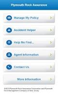 Screenshot of Plymouth Rock Assurance