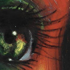 The lonely eye which want to tell a long story... by Sudip Saha - Painting All Painting