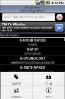 Screenshot of Pocket Rx Guide Free