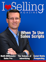 Screenshot of I Love Selling Magazine