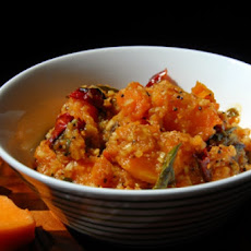 Mirj's Easy Sweet and Spicy Fat-Free Curry Flavored Pumpkin