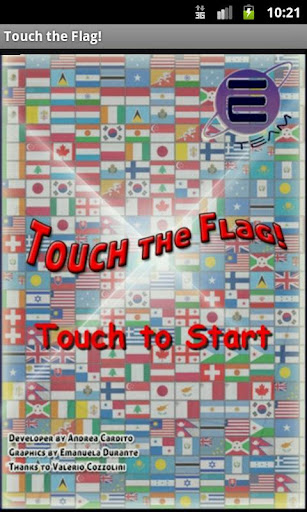 Touch the Flag