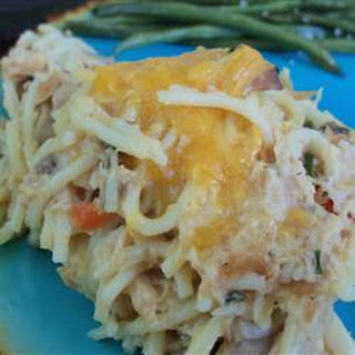 Chicken Tetrazzini for a Crowd
