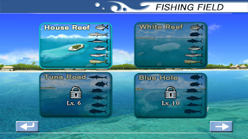 Screenshot of Excite BigFishing