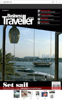 Screenshot of Business Traveller Middle East