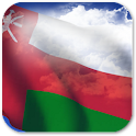 3D Oman Flag + icon