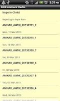 Screenshot of AWR Amharic Radio