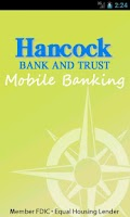Screenshot of Hancock Bank & Trust Company