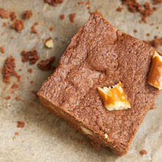 Peanut Butter-Pretzel Brownies