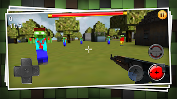 Screenshot of Craft Gun 3D