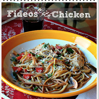 Fideos With Chicken