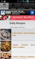 Screenshot of Dessert Recipes!