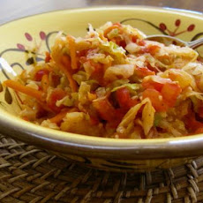 Hot and Spicy Cabbage Medley