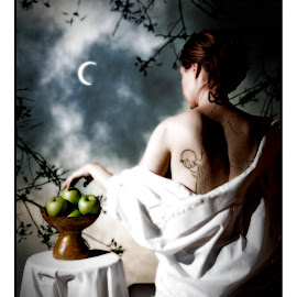 Temptation - ©2008 by Bruno Gallant - Digital Art People ( montage, gens, symbolic, portraits, people )