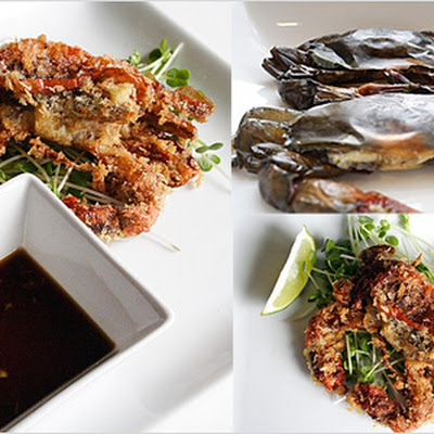 Panko-crusted Soft Shell Crab with Ginger Ponzu Sauce