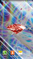 Screenshot of Diamonds Live Wallpaper