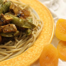 Sweet Apricot Chicken & Sugar Snap Peas